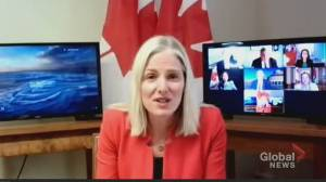 McKenna outlines over $10B in federal funding for 4 GTA transit projects (01:49)