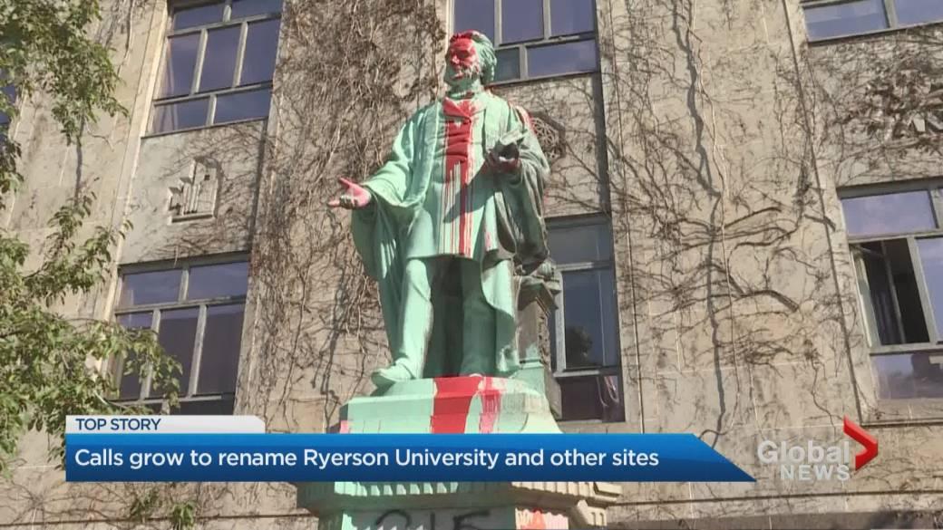 Legislature Moves Egerton Ryerson Painting Bust After Ontario Ndp Request Globalnews Ca
