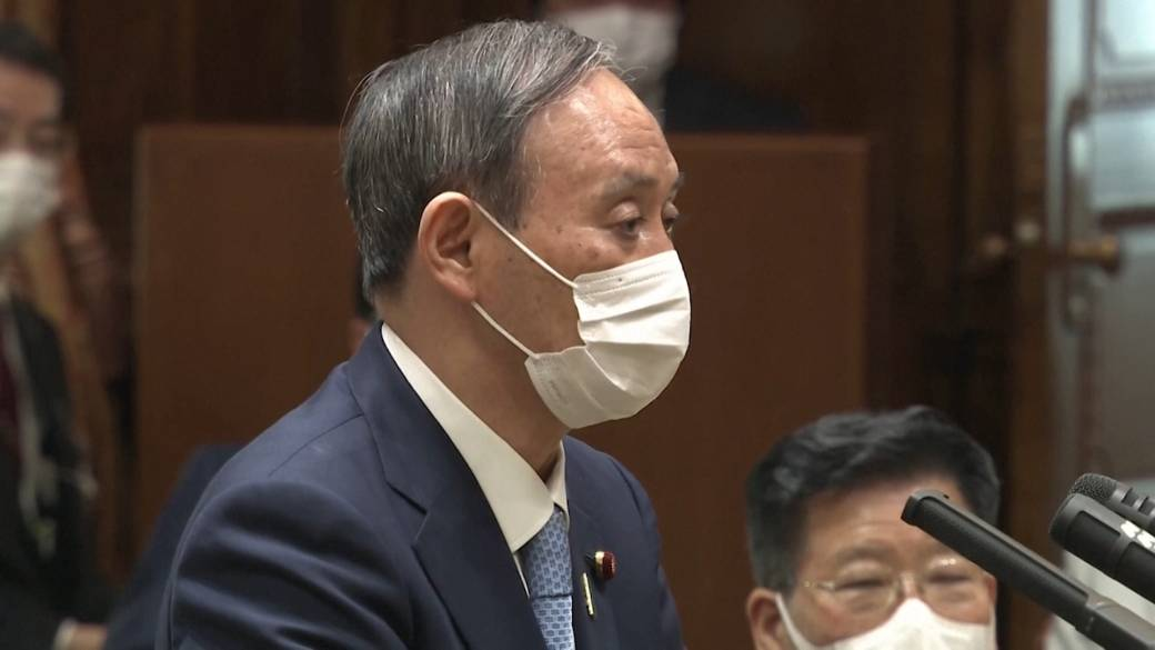 Click to play video: 'Japan's PM says 'natural' not to hold Olympics if public cannot be protected amid COVID-19'