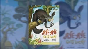Terri Tatchell debuts her brand new book 'Aye-Aye Gets Lucky'.