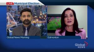 Edmonton mayoral Candidate Cheryll Watson shares her vision for the future (04:44)