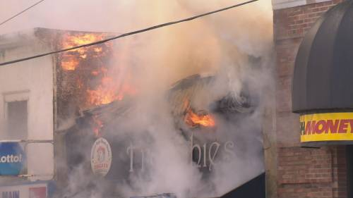 At least three businesses destroyed by fire in Vancouver's Mount Pleasant neighbourhood. | Watch News Videos Online
