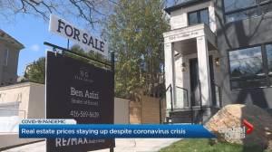 GTA real estate prices staying up despite coronavirus crisis