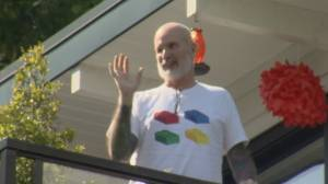 West Vancouver doctor's emotional homecoming after coronavirus battle