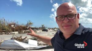 Hurricane Dorian: Flying into devastation in the Bahamas