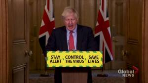 Coronavirus outbreak: British PM Boris Johnson announces plans for retail reopening