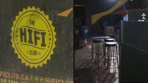 HiFi Club in downtown Calgary closes its doors (01:36)