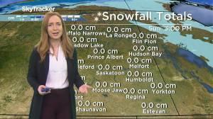 Sunny weekend: Dec. 4 Saskatchewan weather outlook (02:00)