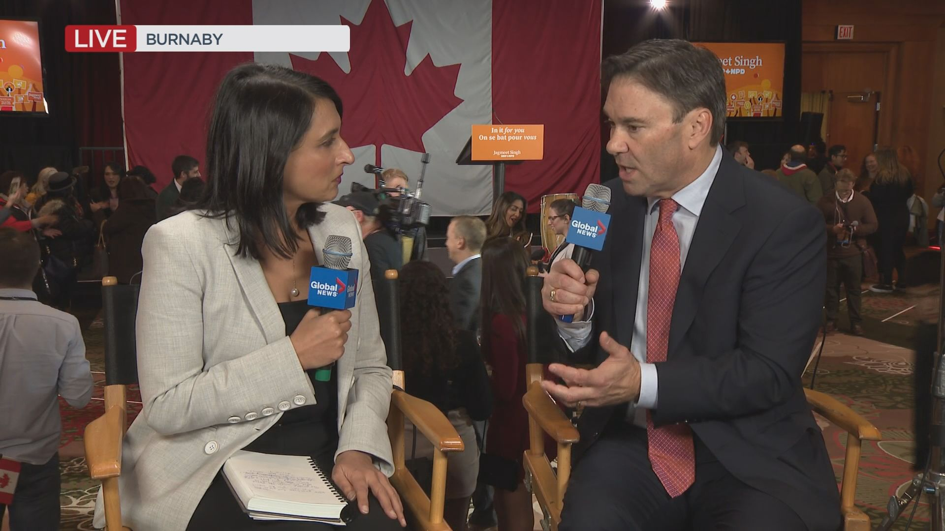 Federal Election 2019: NDP Don Davies on why election was victory for Singh