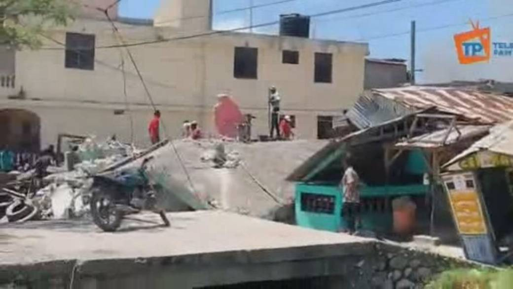 Click to play video: 'Havoc in Haiti, after massive earthquake hits country in crisis'