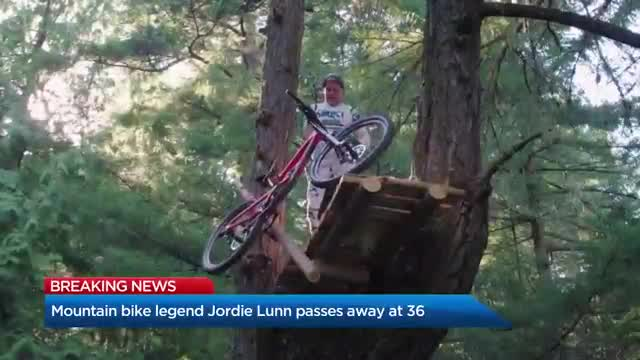 B.C. mountain bike legend Jordie Lunn dies at age 36