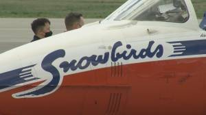 Snowbirds back in Kamloops following tragic 2020 crash (01:10)