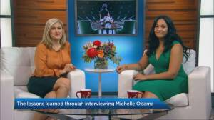 The lessons learned through interviewing Michelle Obama