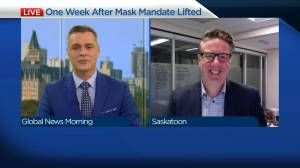 Chamber of Commerce on first week since end of mask mandate (04:01)