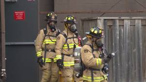 Fire marshal assists with hazardous materials incident at Brockville 3M building (01:13)