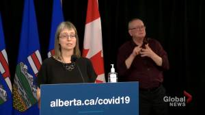 Alberta identifies 1,081 new cases of COVID-19 on Tuesday (01:56)