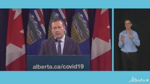 'We may run out of staff and intensive care beds': Kenney's dire warning as pandemic restrictions return to Alberta (01:57)