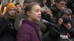 Greta Thunberg tells world leaders 'You haven't seen the last of us'