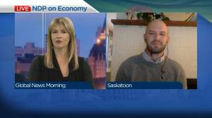 NDP Saskatoon candidate on party's economy plan (04:24)