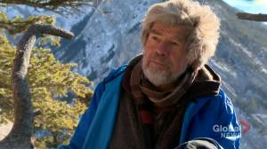 Mountaineering legend Reinhold Messner visits Banff