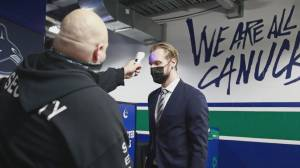Squire Barnes on Vancouver Canucks' COVID-19 outbreak (01:33)