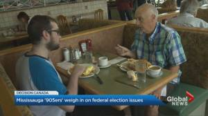 '905ers' weigh in on election issues as federal election campaign kicks off