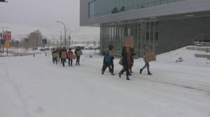 March with Survivors held at UBC Okanagan