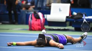 Bianca Andreescu's win at US Open inspires young Saskatchewan athletes