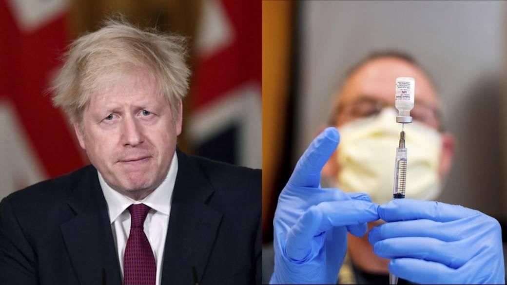 Click to play video 'Coronavirus: New evidence shows UK variant may be more deadly, Boris Johnson says'