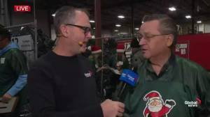 Chatting with longtime 630 CHED Santas Anonymous volunteer Bob Layton (01:15)