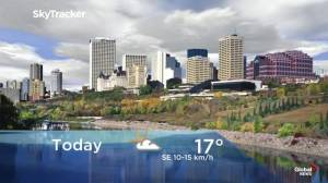 Edmonton early morning weather forecast: Wednesday, September 18, 2019