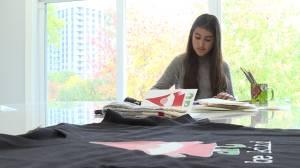 12 year old Lylia Essaddam raises $10000 for local Kingston charities (04:23)