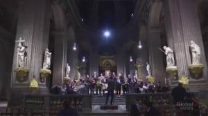 Notre Dame Cathedral to miss 'Midnight Mass' for first time in centuries after fire (00:59)