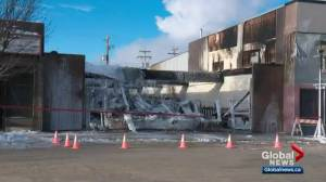 Whitecourt businesses destroyed in Boxing Day fire