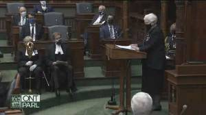 Ontario throne speech: Province to invest $2.68B for long-term care beds over 10 years (02:57)