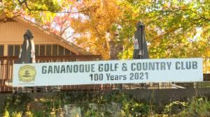 The Gananoque Golf Club prepares to celebrate its 100th anniversary (02:12)