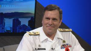 Leadership series 2019: Commodore Angus Topshee
