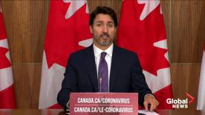 Coronavirus: Trudeau says they've had 'good discussions' over best practices for long-term care homes (01:08)