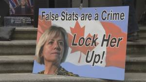 Concerns raised over threats targeting Dr. Bonnie Henry (01:31)