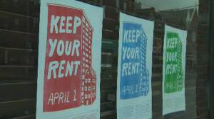 Businesses with no customers struggle to pay rent