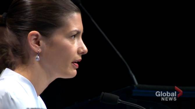 Click to play video: Quebec pledges $233 million to combat violence against women