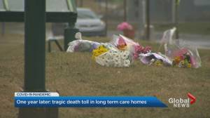 Coronavirus: Canada marks 1 year since 1st long-term care death (02:43)
