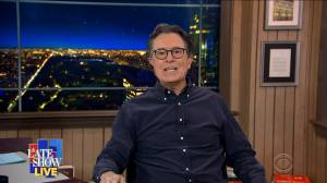 'Have you had enough?': Stephen Colbert reacts to Capitol riot (01:09)
