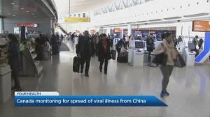 Toronto Pearson Airport monitoring Coronavirus