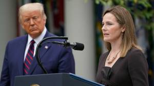 Trump SCOTUS pick Amy Coney Barrett 'deeply honoured', will apply 'law as written'