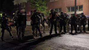 Breonna Taylor protests: Video captures clashes with Portland police after grand jury indictment