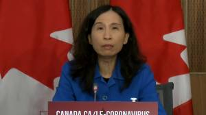 Coronavirus: Canada's national COVID-19 case count more than 6,650 daily, Dr. Tam says (00:50)