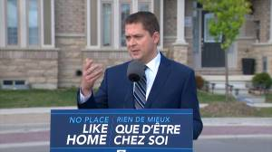 Federal Election 2019: Scheer says Conservatives committed to combatting money laundering