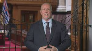B.C. premier shares hopes and fears following restart announcement (03:11)