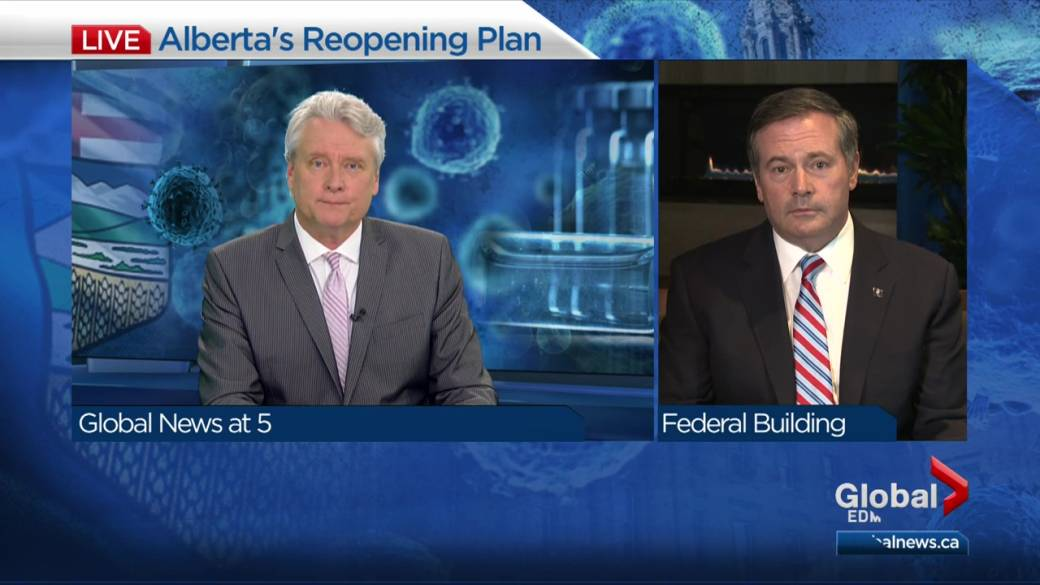 Click to play video: 'Premier Jason Kenney defends 'Open for Summer' relaunch plan'